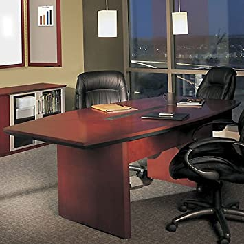 Amazoncom FT FT Large Conference Room Table Meeting - Cherry conference room table