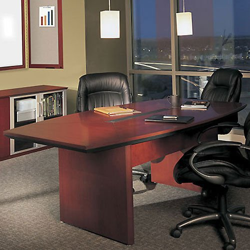 30' Cherry Finish (6FT - 30FT Large Conference Room Table, Meeting Boardroom Office, Cherry or Mahogany (7ft, Cherry))