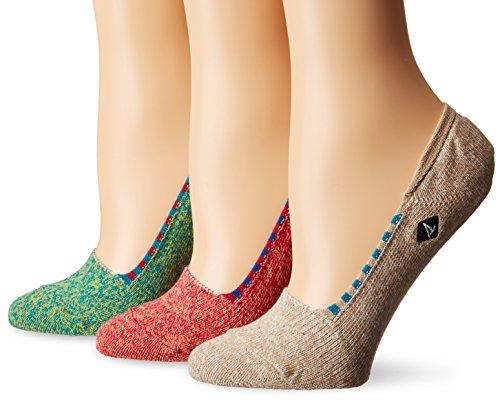 UPC 780512281790, Sperry Women's 3 Pack Skimmers No Show Liner Socks, Purple, 9-11