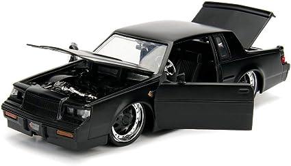 Buick Grand National 1987 schwarz grau Modellauto 1:24 Jada Toys