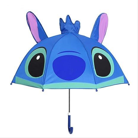 BUDIAN Paraguas 3-7 Years Old Child Umbrella Shark Car ...
