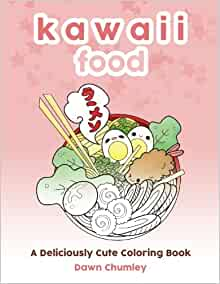 Kawaii Food Deliciously Cute Coloring product image