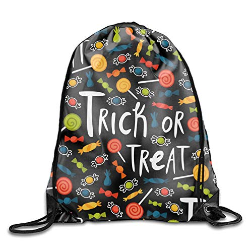 (Trickortreat Drawstring Backpack)
