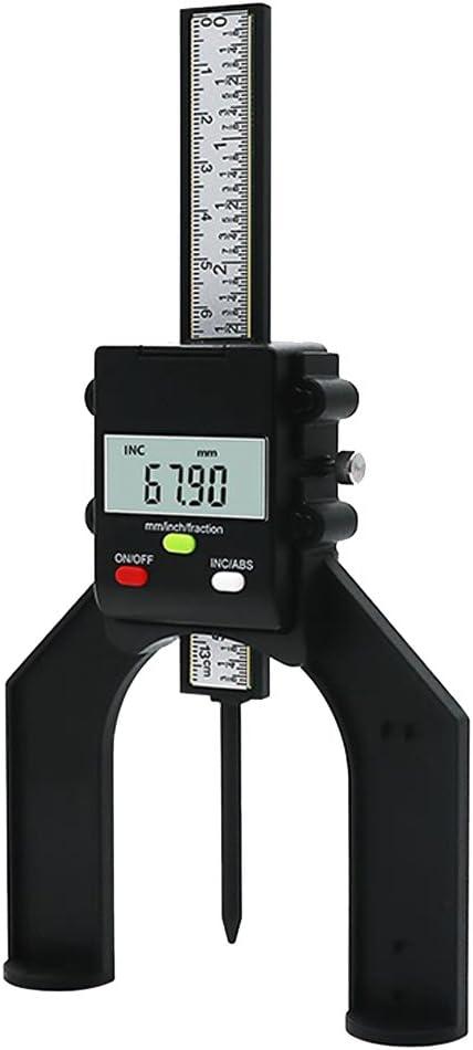 HomeDecTime 80mm Digital Messger/ät Magnetische F/ü/ße LCD H/öhen Messschieber F/ür Das