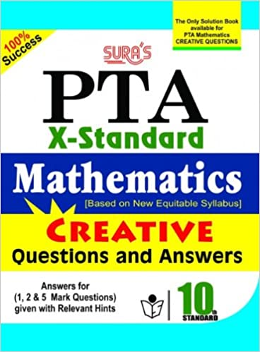 Amazon in: Buy Sura's 10th STD Mathematics PTA Book Online at Low