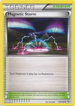 Pokemon - Magnetic Storm (91) - XY Flashfire