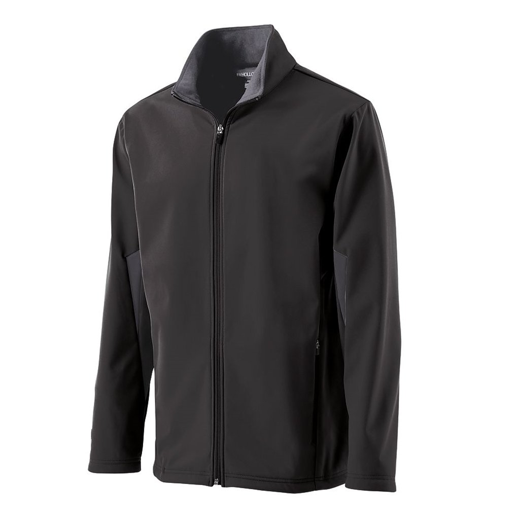 Holloway Youth Revival Semi-Fitted Jacket (Small, Black/Graphite) by Holloway