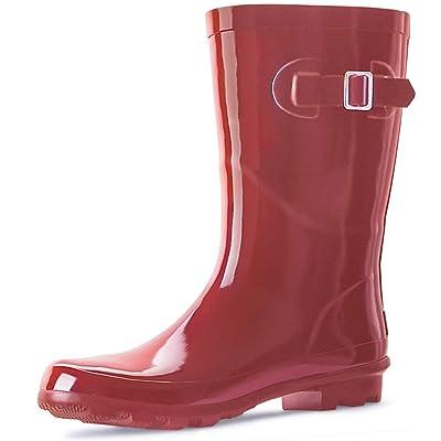 landchief Women's Rubber Rain Boots Printed Waterproof Women Rain Footware, Garden Boots | Boots