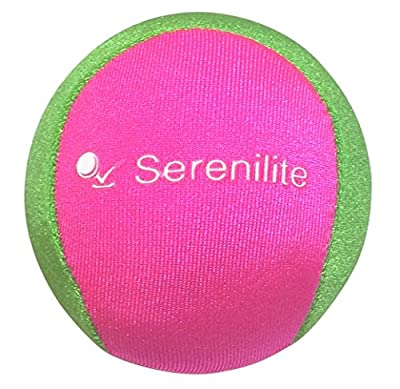 Serenilite Stress Ball and Hand Therapy Gel Squeeze Exercise Ball - Great For Anxiety and Hand Strengthening - Optimal Stress Relief - Dual Color