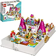 LEGO Disney Ariel, Belle, Cinderella and Tiana's Storybook Adventures 43193 Building Toy for Kids; New 2021 (1