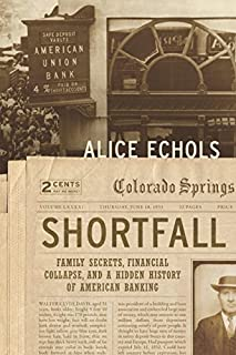 Book Cover: Shortfall: Family Secrets, Financial Collapse, and a Hidden History of American Banking