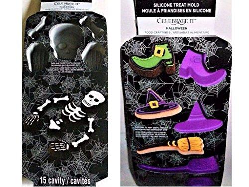 Halloween Food Crafting Silicon Treat Molds Bundle (Set of 2) -