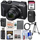 Nikon Coolpix A1000 35x 4K Wi-Fi Digital Camera with 32GB Card + Battery + Charger + Tripod + Case + Kit