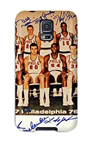 Best 4199658K759272818 philadelphia 76ers nba basketball (1) NBA Sports & Colleges colorful Samsung Galaxy S5 cases