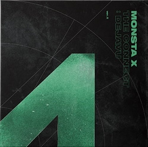 Price comparison product image MONSTA X - THE CONNECT : DEJAVU [II ver.] (6th Mini Album) CD + Booklet + 2Photocards + Pre-Order Benefit + Folded Poster + Extra Photocards Set - Fast Delivery in USA Domestic