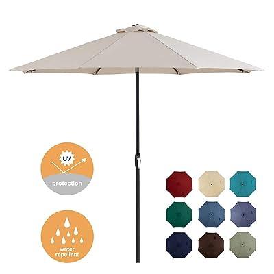 Tempera Patio Umbrella 10ft Outdoor Garden Table Umbrella