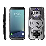 TurtleArmor | Samsung Galaxy S8+ Case | S8 Plus Case | S8 Edge Case | G955 [Octo Guard] Dual Layer Case Holster Belt Clip Sturdy Kickstand Cover – Classic Game Controller