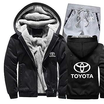 KGKYK Sudadera con Capucha Toyota Car Logo Hombre Sudaderas con ...