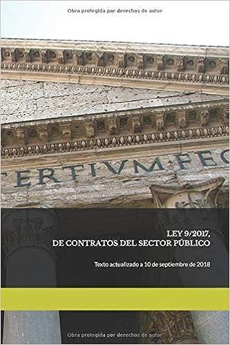 Ley 9/2017, De Contratos Del Sector Público por Juan José Montero Pascual epub