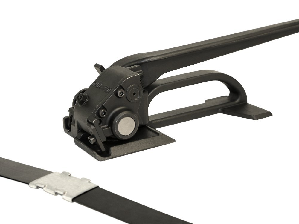 Teknika S-298 Heavy Duty Feedwheel Tensioner for 1 1//4 Steel Strapping