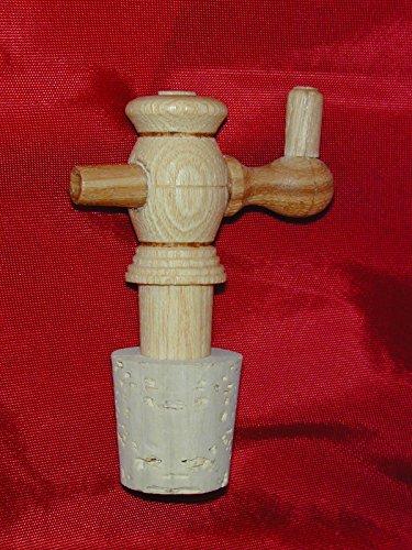 crock jug with cork - 4