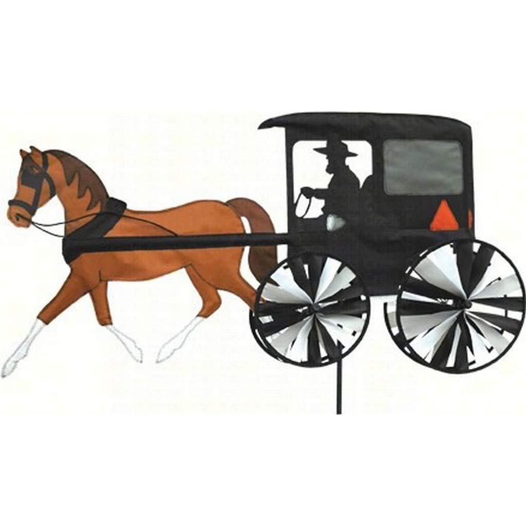 Horse /& Buggy PREMIER KITES /& DESIGNS Accent Premier Kites Accent Spinner Horse /& Buggy Pferdewagen