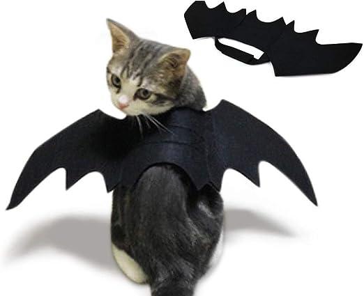 FJXJLKQS Disfraz De Disfraz De Gato para Mascotas De Halloween ...