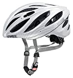 Uvex 2015 Unisex BOSS Race Helmet Carbon Look White Large/X-Large 55-60cm