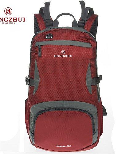 ZQ Tourenrucksäcke/Radfahren Rucksack ( Grün/Rot/Blau , 40L L) Wasserdicht/Wasserdichter Verschluß/Laptop-Rucksäcke/tragbar/Multifunktions