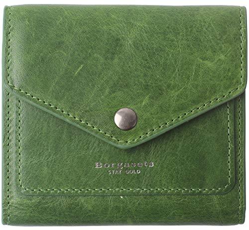 - Small Wallet for Women Leather RFID Blocking Women's Credit Card Holder Slim Mini Bifold Pocket Purse Moss Green