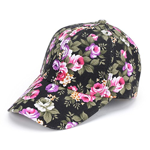 Floral Print Cap - 9