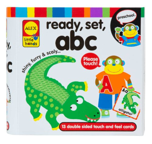 ALEX Toys Little Hands Ready Set ABC - Little Alphabet Books