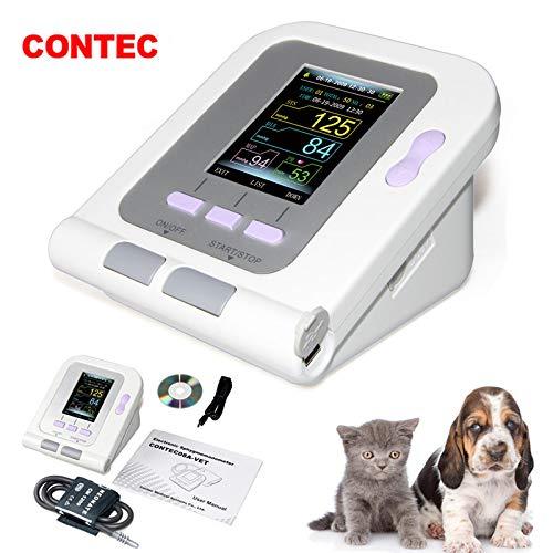- CONTEC08A-VET Digital Veterinary Blood Pressure Monitor, Dog/Cat/Pets (CONTEC08A-VET with Neonatal Cuff)