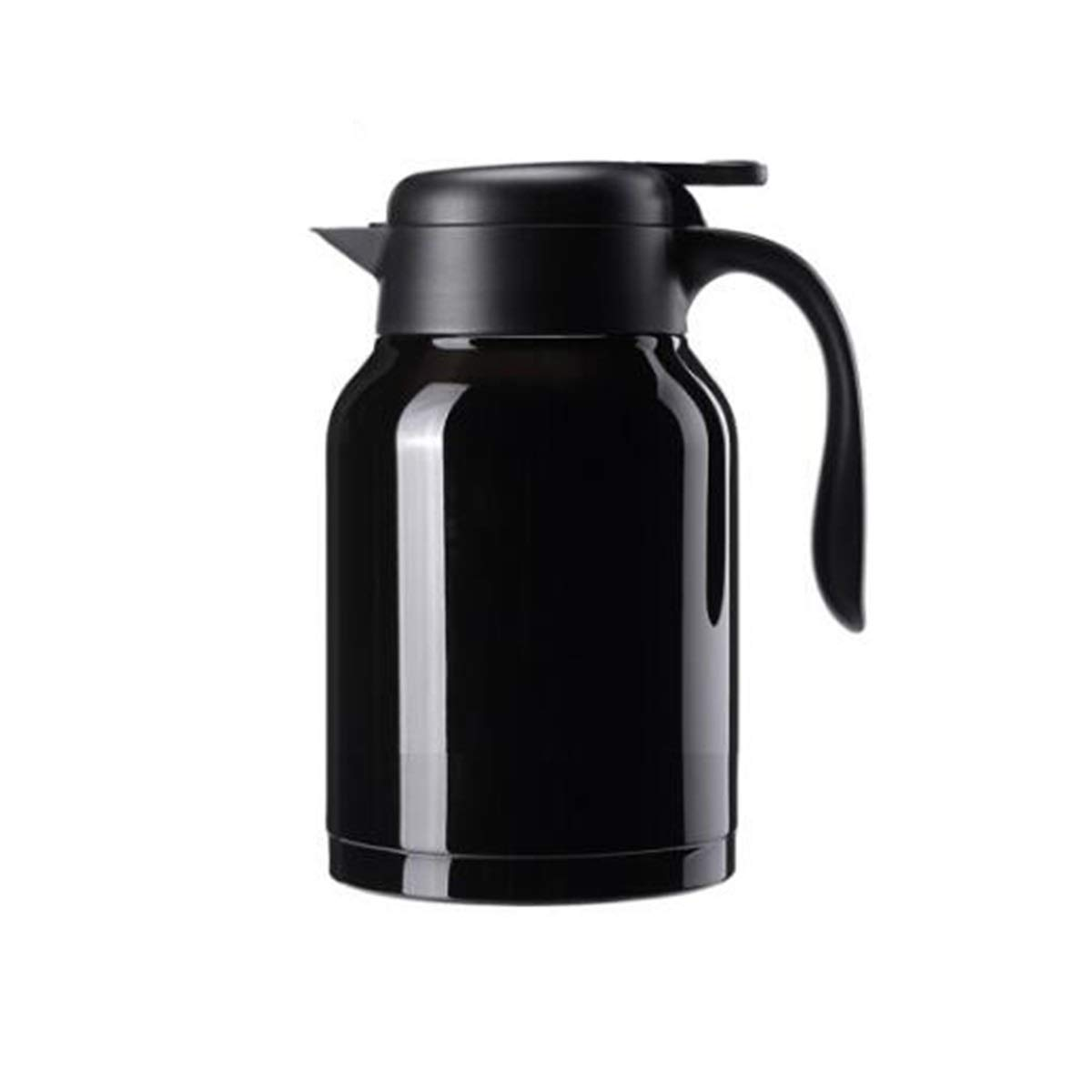 2.0L Insulated Kettle 1.5L GUYUEXUAN Kettle Kettle Coffee Insulation Pot Brown Household Thermos White and Durability Stainless Steel Insulated Pot