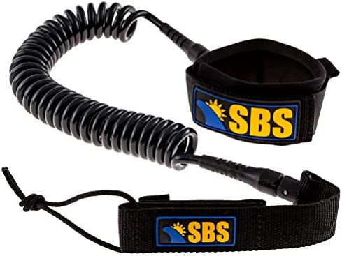 SUP Ankle leash For Water Sports Coil Leash Rope For Stand Boards Up Paddle P1N1