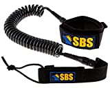 SBS 10' Coiled SUP Leash - GUARANTEED FOR LIFE - Premium...