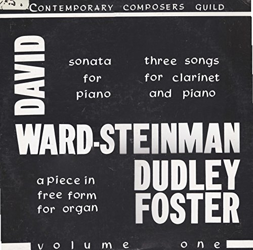 David Dependant fend off-Steinman: Sonata For Piano, Dudley Foster: A Piece In Free Form For Organ (LP)