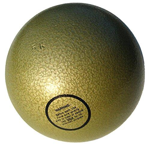 Stoßkugel für Wettkampf + Training 5,00 kg aus Gusseisen