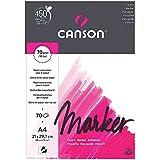 Canson 200297231 XL Marker papier, A4, hochweiß