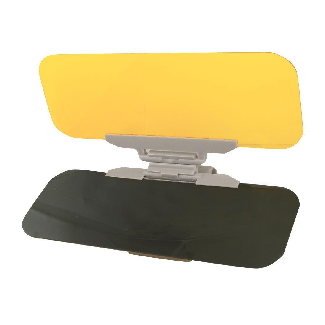 TOOGOO (R) GIALLO CHIARO parasole No abbagliamento flip out Extender per auto SODIAL(R) a12081000ux0254