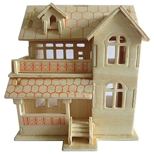 Building model houses hobby