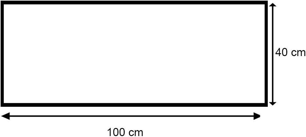 Cuadro decoraci/ón MARR/ÓN 25x70 cm Feeby Frames NATURALEZA Cuadro en lienzo BOSQUE SOL Cuadro impresi/ón VERDE Canvas de una pieza /ÁRBOL