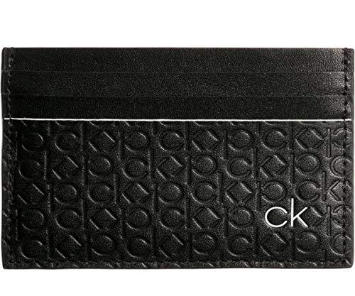 Black documents Allover Cardhole K50k504592 Calvin Klein Homme Porte 8UPv0