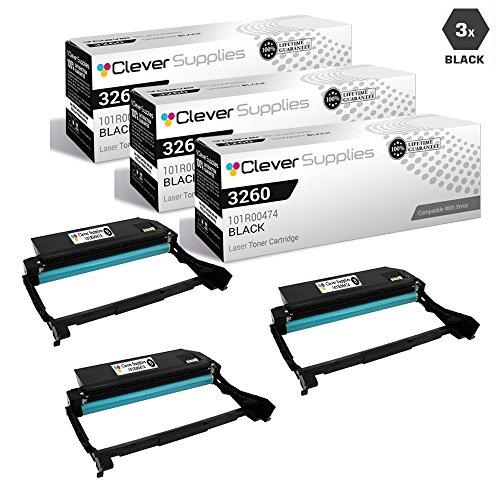 CS Compatible Drum Cartridge Replacement for Xerox 3260