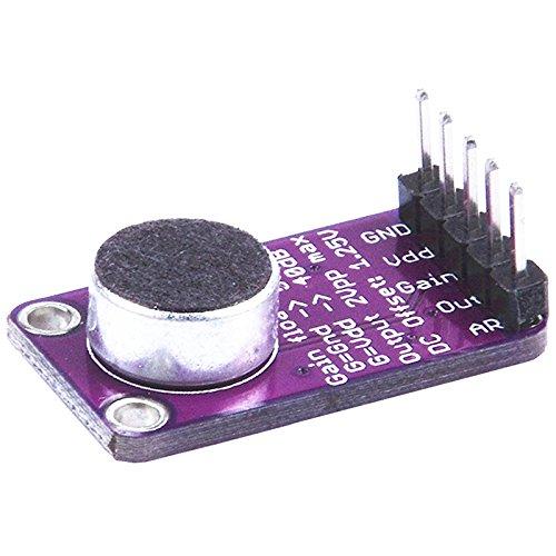 SODIAL(R) MAX9814 Electret MIC Microphone Amplifier Module Auto