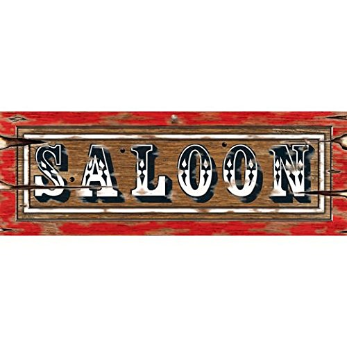 (Saloon Sign Party Accessory (1 count))