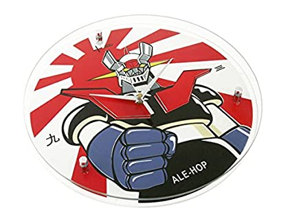 Reloj de Pared Mazinger Z: Amazon.es: Hogar