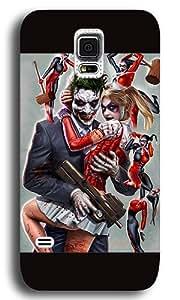 Samsung Galaxy S5 Case Cover,Joker and Harley Quinn Custom PC+ABS Plastic Hard Case Back Cover for Samsung Galaxy S5 Black Kimberly Kurzendoerfer