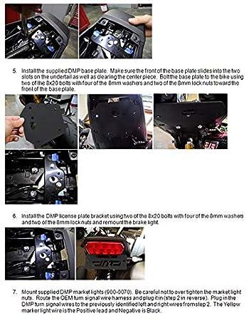 MADE IN THE USA DMP LEPAZA64211 2014-2015 Honda Grom 125 Fender Eliminator 670-3100