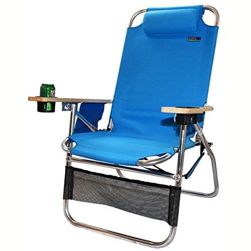 Big Papa 17 inch Hi-Seat Beach Chair - Light Blue